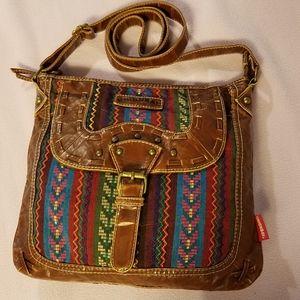 Union Bay Boho Gypsy crossbody bag
